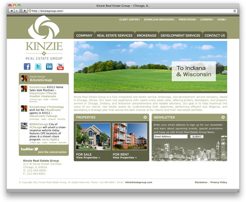 Kinzie Group Website